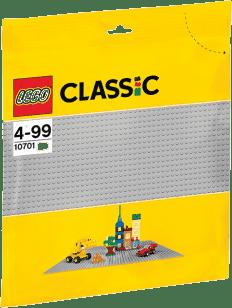 LEGO® Classic Sivá podložka na stavanie