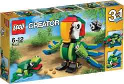 LEGO® CREATOR Zvieratá z dažďového pralesa