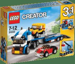 LEGO® Creator TIR do transportu aut