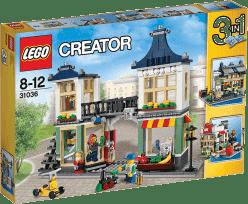 LEGO® Creator Sklep z zabawkami i owocami