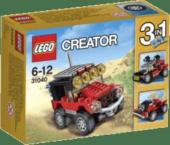 LEGO® Creator Pustynne wyścigówki