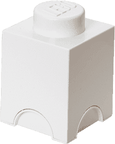 LEGO® Úložný box velikost 1 bílá