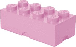LEGO® Úložný box veľkosť 4 svetlo ružová
