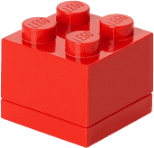 LEGO® Mini Box, červená