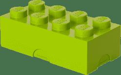 LEGO® Box na desiatu, svetlo zelená