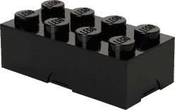 LEGO® Box na desiatu, čierna