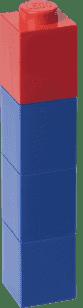 LEGO® Fľaša na pitie štvorcová, modrá