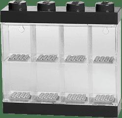 LEGO® Sběratelská skříňka na 8 minifigurek, černá