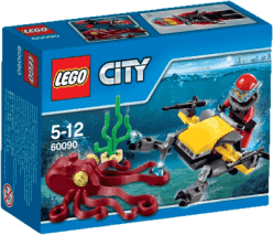 LEGO® City Deep Sea Explorers Skuter głębinowy