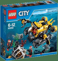 LEGO® City Deep Sea Explorers Łódź głębinowa