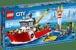 LEGO® City Fire Łódź strażacka