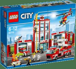 LEGO® City Fire Remiza strażacka