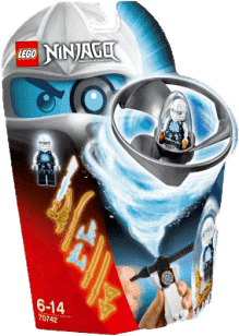 LEGO® Ninjago Zaneův letoun Airjitzu