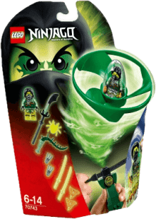 LEGO® Ninjago Morrův letoun Airjitzu