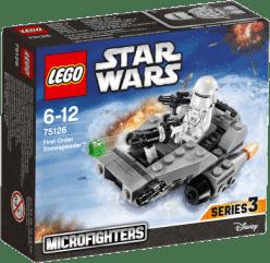 LEGO® Star Wars TM Confidential Microfighter Villain craft blue