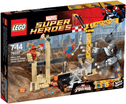 LEGO® Super Heroes Superzlosynové Rhino a Sandman