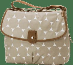 BABYMEL Prebaľovacia taška Satchel Jumbo Dot Fawn