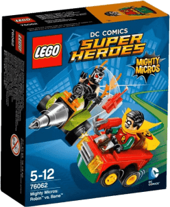 LEGO® Super Heroes Mighty Micros: Robin kontra Bane
