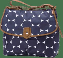 BABYMEL Přebalovací taška Satchel Jumbo Dot Navy