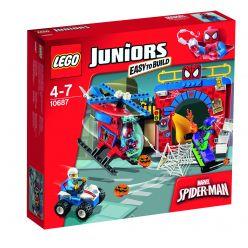 LEGO® Juniors Spider-Manova™ skrýš