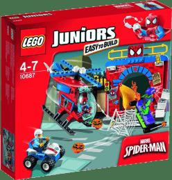 LEGO® Juniors Kryjówka Spider-Mana™