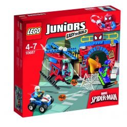 LEGO® Juniors Spider-Manova ™ skrýša