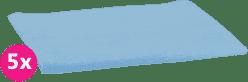 SCAMP Pieluszki bawełniane jasnoniebieskie 5 szt.