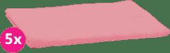 SCAMP Pleny bavlněné světle růžové 5ks