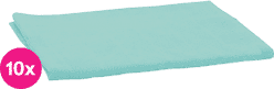 SCAMP Pieluszki bawełniane turkusowe 10 szt.
