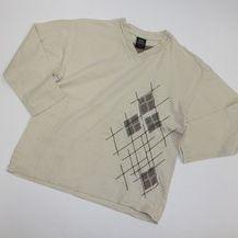 Tričko světle béžové s aplikací