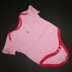 Body růžové s obrázkem krátký rukáv