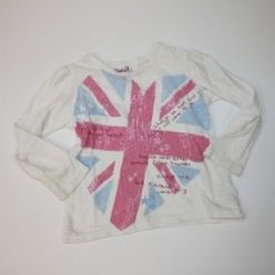 Tričko bílé s vlajkou