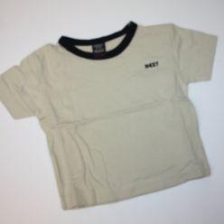 Tričko béžové s výšivkou NEXT