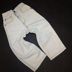 Kalhoty světlé džínové