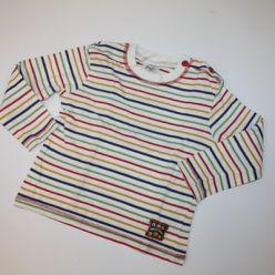 Tričko s barevnými proužky
