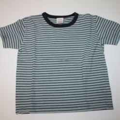Tričko s modrými proužky