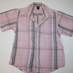Košile růžová kostkovaná