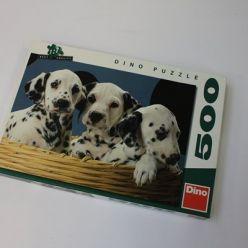 Puzzle dalmatini 500ks