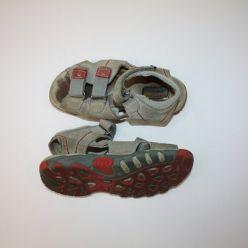 Sandále béžové na suchý zip FARE