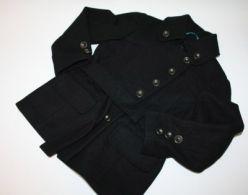 Černý kabát NEXT