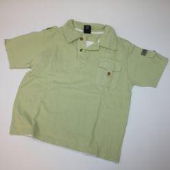 Zelené triko s kapsou NEXT