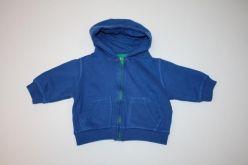 Mikina tmavě modrá s kapucí