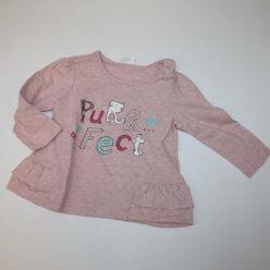 Tričko dl. rukáv růžové