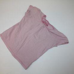 Růžové triko s kr. ruk. Next