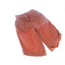 Dívčí oranžové kalhoty Next