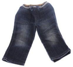 Džíny modré šisované