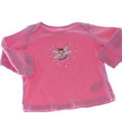 Růžové triko s vílou
