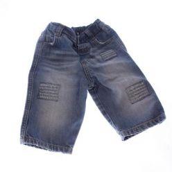 Modré džínové kalhoty NEXT
