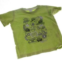 Zeleno černé triko s č. 86