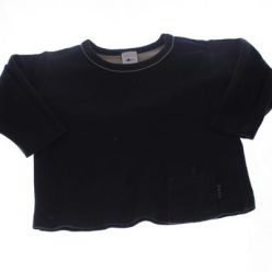 Černé triko s kapsičkou NEXT